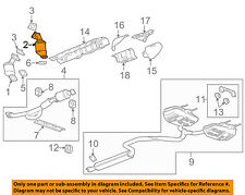 Buick GM OEM 2010 LaCrosse-Exhaust System-Catalytic Converter & Pipe 20907414