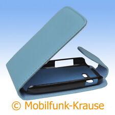 Flip Case Etui Handytasche Tasche Hülle f. Samsung Galaxy Star Duos (Türkis)