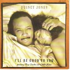 "7"" 45 TOURS ALLEMAGNE QUINCY JONES RAY CHARLES ""I'll Be Good To You"" 1989 SOUL"