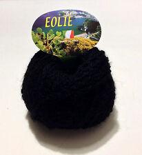 Filati ferri maglia gomitoli misto Lana /Mohair /Alpaca nero
