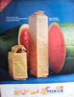1965 Nabisco Premium Saltine Crackers Stack Pack and Watermelon Ad