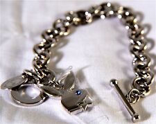 PLAYBOY BRACELET CHUNKY CHAIN VALENTINES BOXED NEW