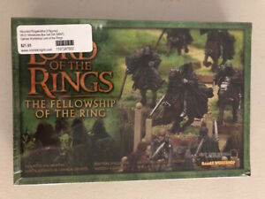 Games Workshop Miniatures Lord of the Rings Mounted Ringwraiths Box 06-31 SW