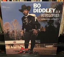 sealed BO DIDDLEY is a GUNSLINGER reissue 70's? no bar code CHECKER LP 2977