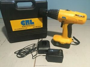 CR Laurence LD147 18v Cordless Drill/ Driver w/ Battery and Charger