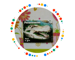 PERU 2007 Purussaurus Wildlife  Prehistoric life MNH  Unused stamp