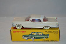 Dinky Toys 550 Chrysler Saratoga excellent plus in box all original