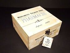 Wooden Medium Box For First Aid ,Pharmacy Trinkets , Vintage Style Home Decor #2