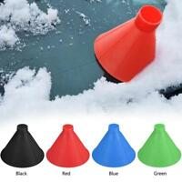 Plastic Cone Shaped Magic Car Windshield Snow Remover Shovel Ice Scraper Funnel