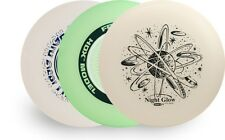 WHAM-O UMAX FRISBEES 3 PACK - SET OF HDX, GLOW & HIGH RIGIDITY - ASSORTED COLORS