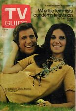 1970 TV Guide August 8 - Marlo Thomas; Happy Days; Larry Hovis; Ted Bessell