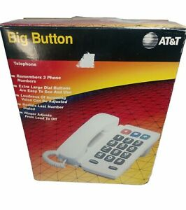 AT&T Big Button Plus Telephone 905, Vintage 1994 , With Box and Manual