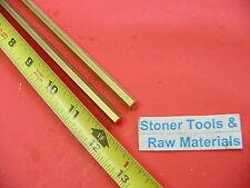 2 Pieces 516 C360 Brass Hex Bar 12 Long New Lathe Bar Stock H02 12 Hard