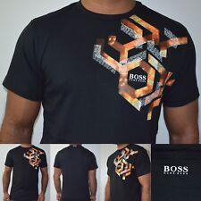 Hugo Boss Green Label Black T-Shirt. Size: Small, Medium, Large, XL, XXL On Sale