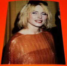 Deborah Harry / Candid 1980's 8 x 10 Color Photo