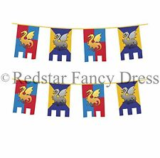 Fairy Tales 6-10 m Party Banners, Buntings & Garlands