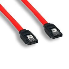 Kentek 3 FT SATA Cable with Locking Latch 26AWG 7Pin Internal 3.0Gbps PC Mac HDD
