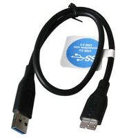 3.0 USB CABLE FOR WESTERN DIGITAL WD MY PASSPORT EXTERNAL HARD DISK DRIVE HDD
