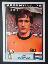 Panini 113 Jan Poortvliet Niederlande WM 78 World Cup Story