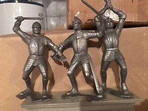 Marx 6 (six) inch Knights