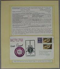 s1192) Raumfahrt Space Apollo-Sojus Tracking Station Guam  Autograph Vance Brand