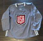 Team USA Adidas Practice Jersey Size 52 MIC Canada WCOH World Cup Of Hockey