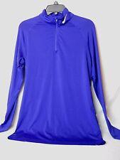 Nike Women's Pro Combat Compression Dri Fit Top Color Blue/Purple Size XL