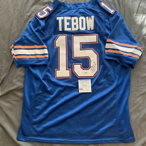 Tim Tebow Signed Jersey PSA/DNA COA University Of Florida Gators Autographed