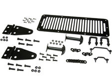 Kit complet de capot acier noir Jeep CJ, Wrangler YJ