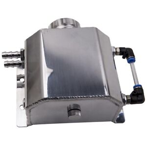 Kühlmittel Tank Universal 1L Überlauf Recovery Wassertank Aluminium Flasche