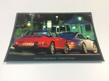 1967 & 1997 Porsche 911 Targa Postcard - Advertising