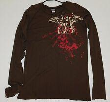 KISS Band Bat Wings Blood Albums Long Sleeve Shirt XL Winterland UNWORN 2006
