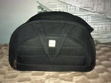 Polo Classic Travel Bag Pull Along Suitcase Black