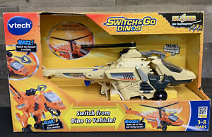 VTech Switch & Go Dinos Blister The Velociraptor Dinosaur Exclusive Color