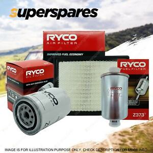 Ryco Oil Air Fuel Filter Service Kit for Ford Fairmont AU AUII AUIII EF EL