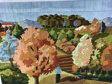 DMC Actuelle Ete Indien Indian Summer Completed Longstitch Fall Autumn France