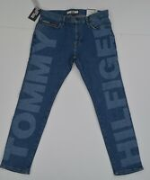 NWT MEN'S Tommy Hilfiger Denim Stretch Slim Tapered Jeans