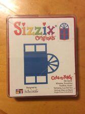 38-1209 Sizzix Originals Die Cuts-N-Folds Window, Sunshine New S32
