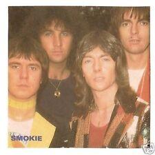 SMOKIE - Rock Pop Group - vintage Joepie Sticker Card A