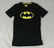 Batman Size S Tee T Shirt Black Yellow Short Sleeve Cotton DC Comics Jay Jays