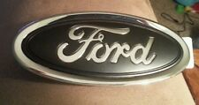 2013-2016 Ford Focus GRILL or trunk emblem, Matte black 3d