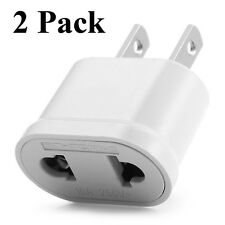 Quality EU Euro Europe to US USA AC Power Plug Converter Travel Adapter Charger