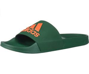 adidas Men's Adilette Shower Slides, Green