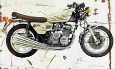 Benelli 750Sei 1976 Aged Vintage SIGN A3 LARGE Retro