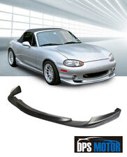 GV Urethane Front Bumper Lip Spoiler Body kits For 01-05 Mazda Miata MX-5 NB2