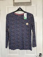 Brand New Tu Women's Floral Print Long Sleeve Luxe Top Size 24