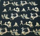"""Antique Piece Egyptian culture hand embroidered tapestry size 32""""×34 cm81x86"""