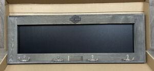 New Harley Davidson Chalkboard Key Holder - Biker Gift Set