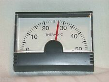 Autothermometer analog Kunststoff Auto Thermometer  Pkw Kfz  Innenthermometer