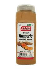 BADIA - TURMERIC 16 OZ (6 PACK) Root Ground Turmeric / Curcuma en Polvo - Kosher